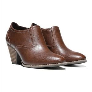 Dr Scholls Whiskey Codi Ankle Bootie Brown 9.5